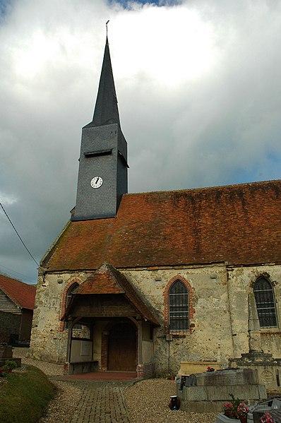 Photo du Monument Historique Eglise Saint-Martin situé à Bouelles
