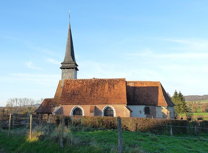 Photo du Monument Historique Eglise paroissiale Saint-Martin situé à Saint-Martin-l'Hortier