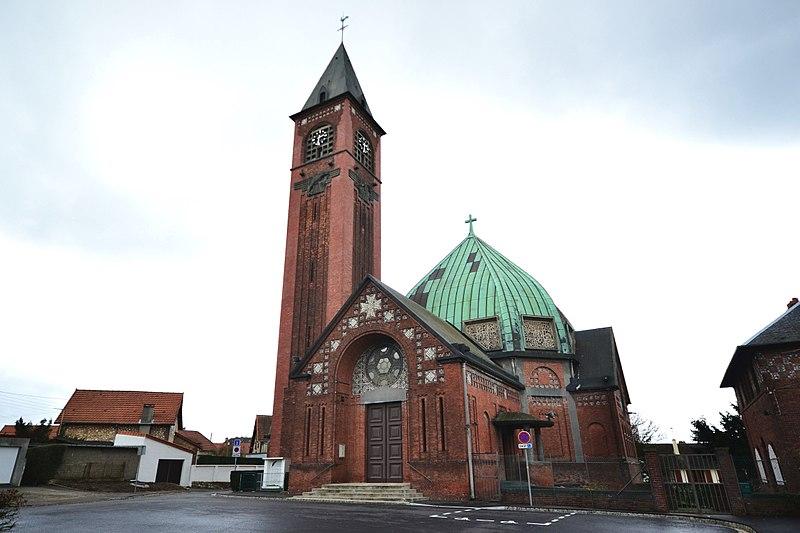 Photo du Monument Historique Eglise paroissiale Saint-Jean-Eudes situé à Rouen