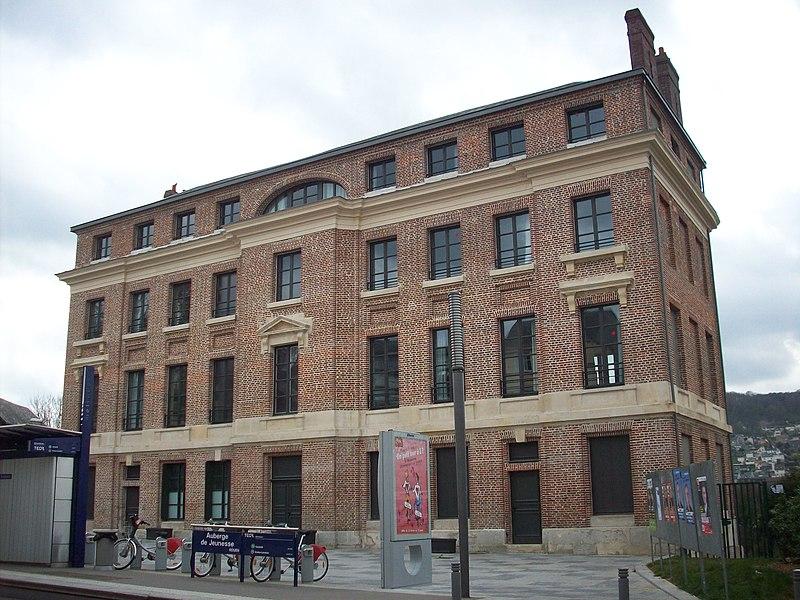 Photo du Monument Historique Ancienne teinturerie Auvray situé à Rouen