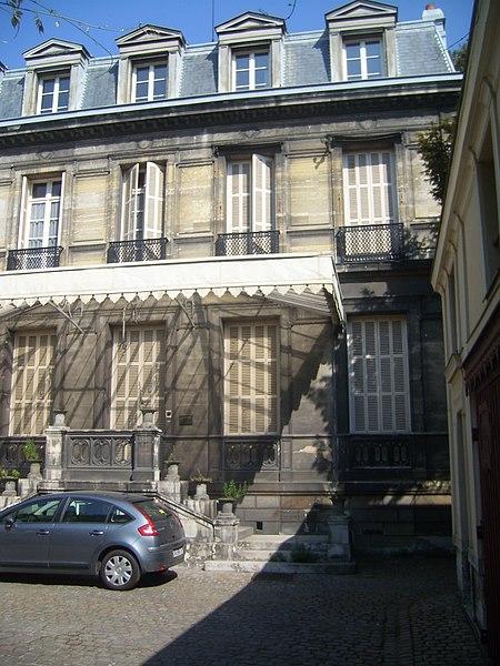 Photo du Monument Historique Hôtel particulier situé à Rouen