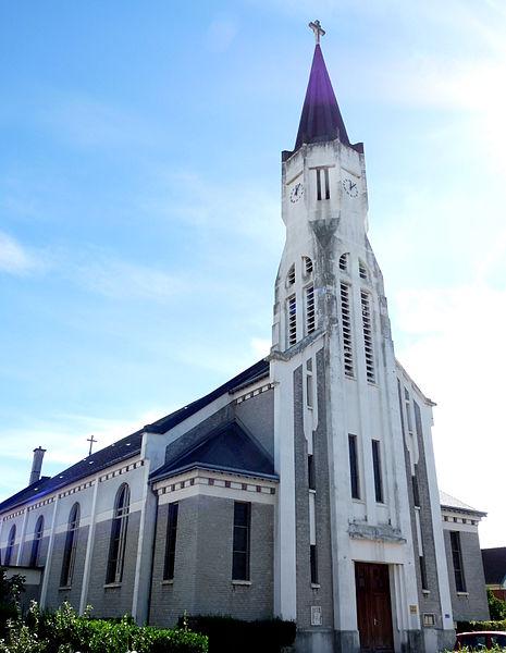 Photo du Monument Historique Eglise Saint-Vincent-de-Paul situé à Sotteville-lès-Rouen