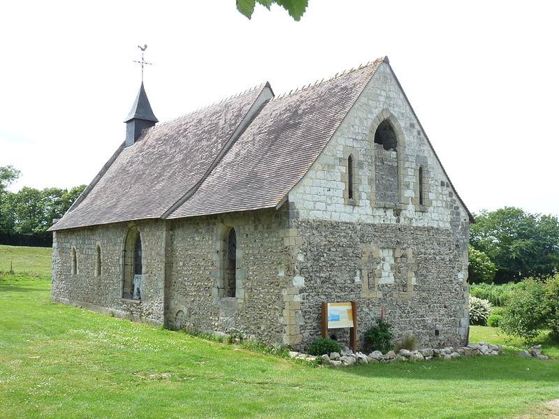 Photo du Monument Historique Chapelle Notre-Dame du Val situé à Sotteville-sur-Mer