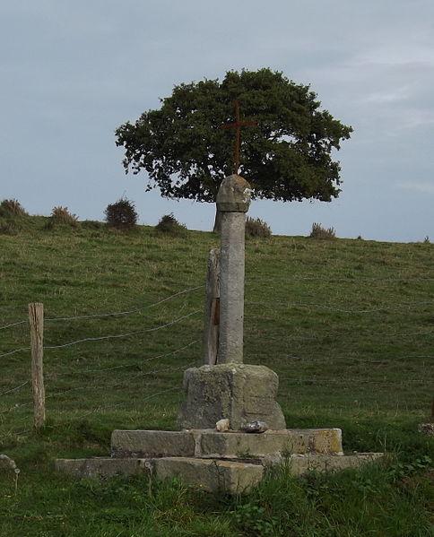 Photo du Monument Historique Croix de chemin de Notre-Dame du Val situé à Sotteville-sur-Mer