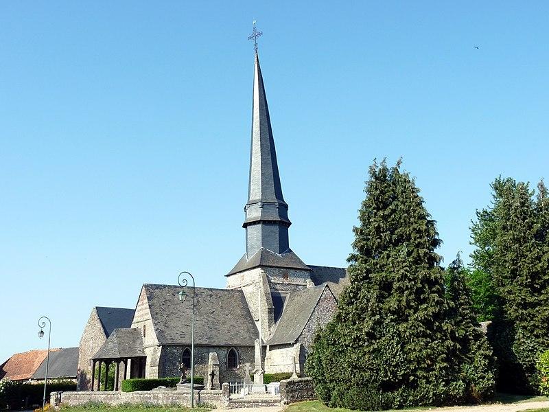 Photo du Monument Historique Eglise Saint-Nicolas situé à Pommeréval