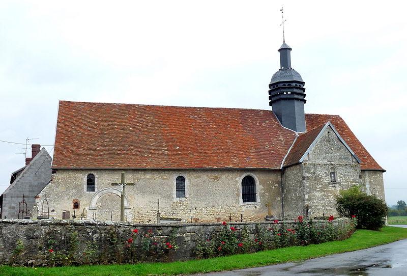 Photo du Monument Historique Eglise Notre-Dame d'Hodenger situé à Hodeng-Hodenger