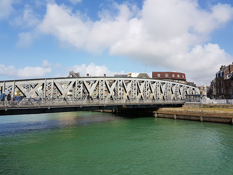 Photo du Monument Historique Pont Colbert situé à Dieppe