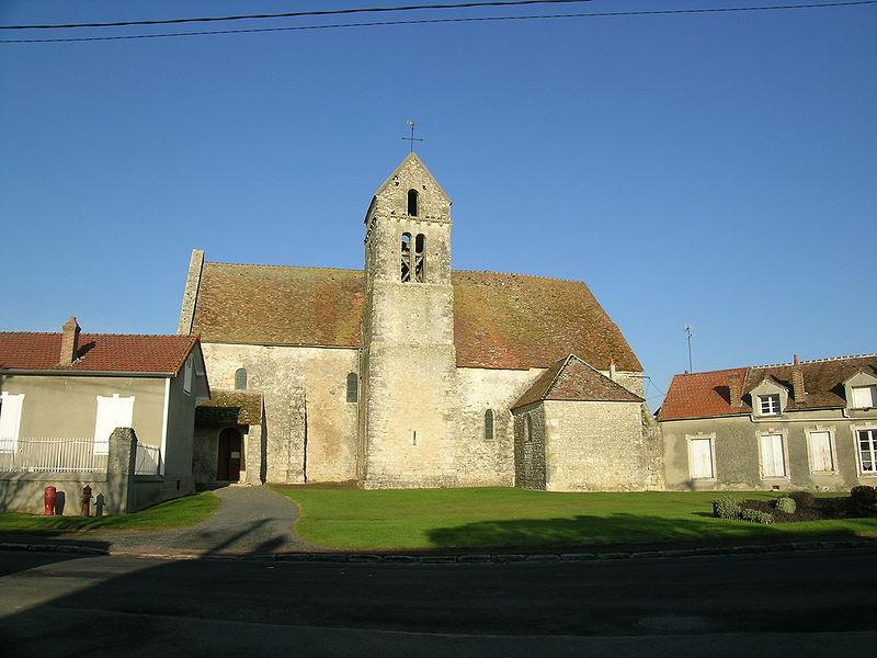 Photo du Monument Historique Eglise situé à Amponville