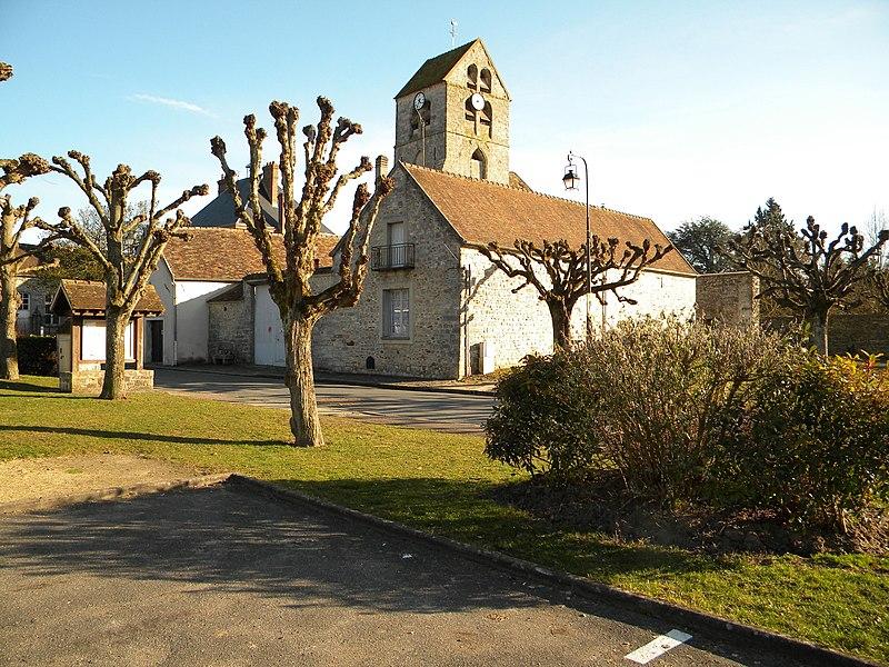 Photo du Monument Historique Eglise Saint-Eloi situé à Arbonne-la-Forêt