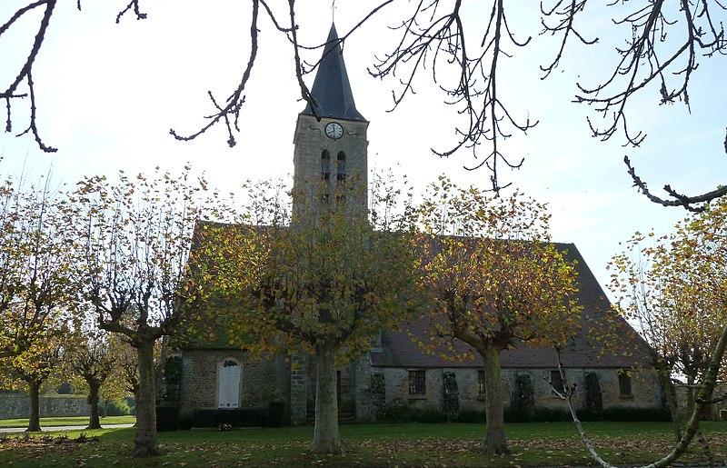 Photo du Monument Historique Eglise Saint-Christophe d'Aubepierre situé à Aubepierre-Ozouer-le-Repos