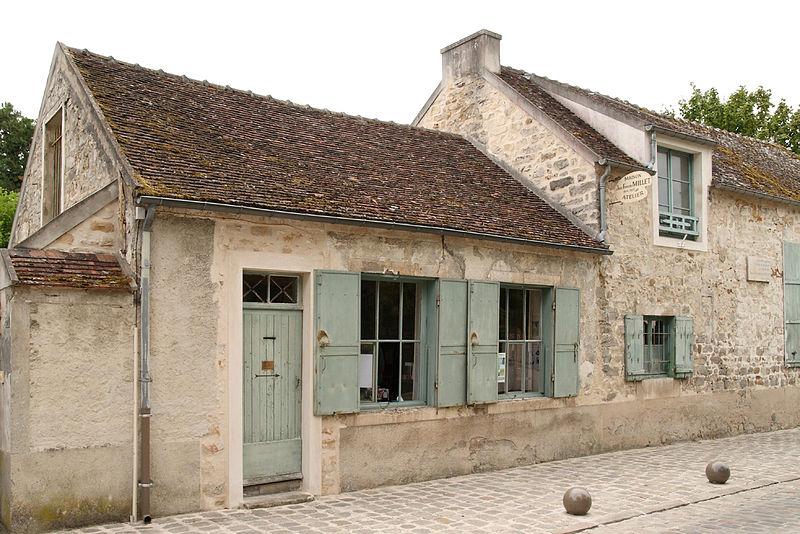 Photo du Monument Historique Atelier du peintre Jean-François Millet situé à Barbizon