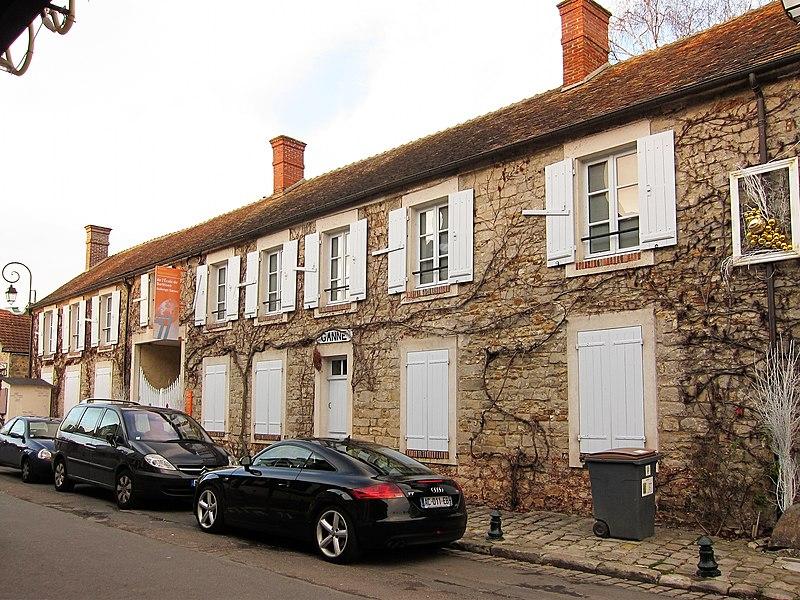 Photo du Monument Historique Auberge Ganne situé à Barbizon