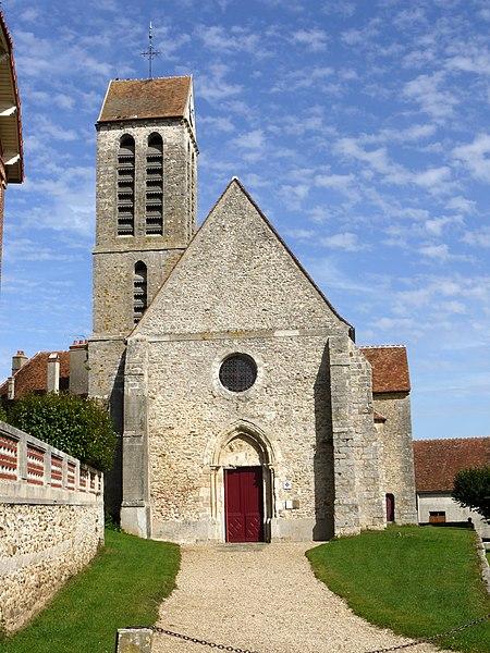 Photo du Monument Historique Eglise Saint-Pierre situé à Bernay-Vilbert
