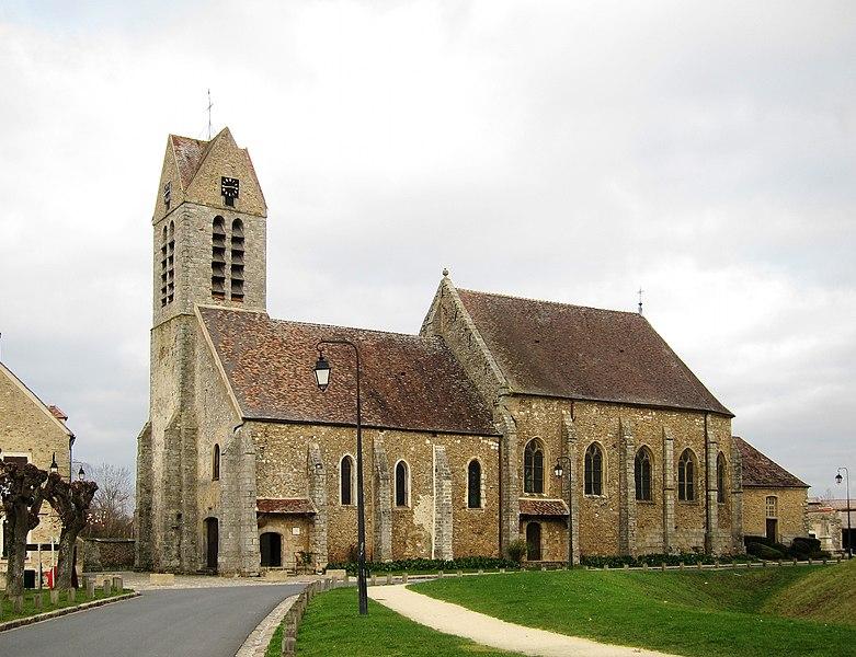 Photo du Monument Historique Eglise Saint-Maurice situé à Blandy