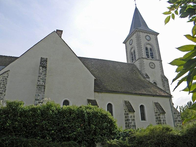 Photo du Monument Historique Eglise situé à Bourron-Marlotte