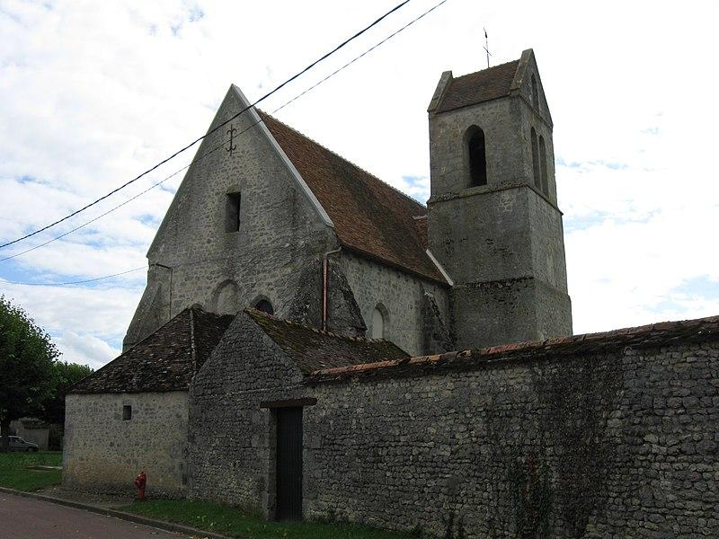 Photo du Monument Historique Eglise Saint-Amand situé à Burcy