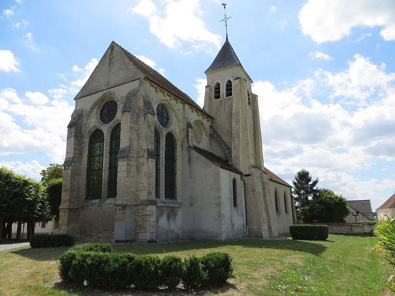 Photo du Monument Historique Eglise Saint-Martin situé à Bussy-Saint-Martin