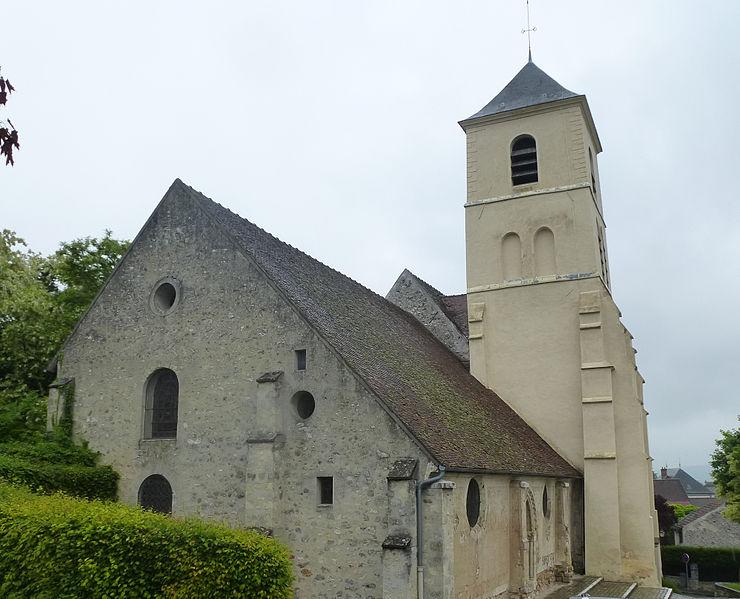 Photo du Monument Historique Eglise Saint-Etienne situé à Chamigny
