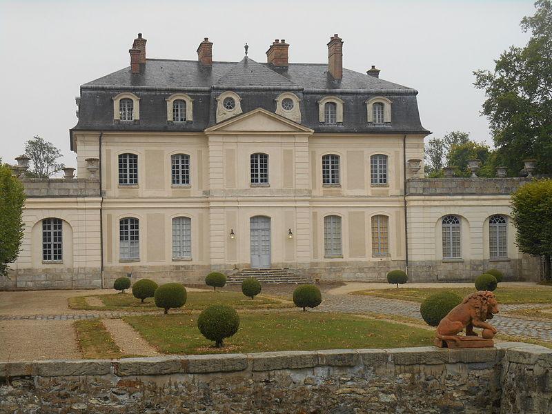 Photo du Monument Historique Château d'Aunoy situé à Champeaux