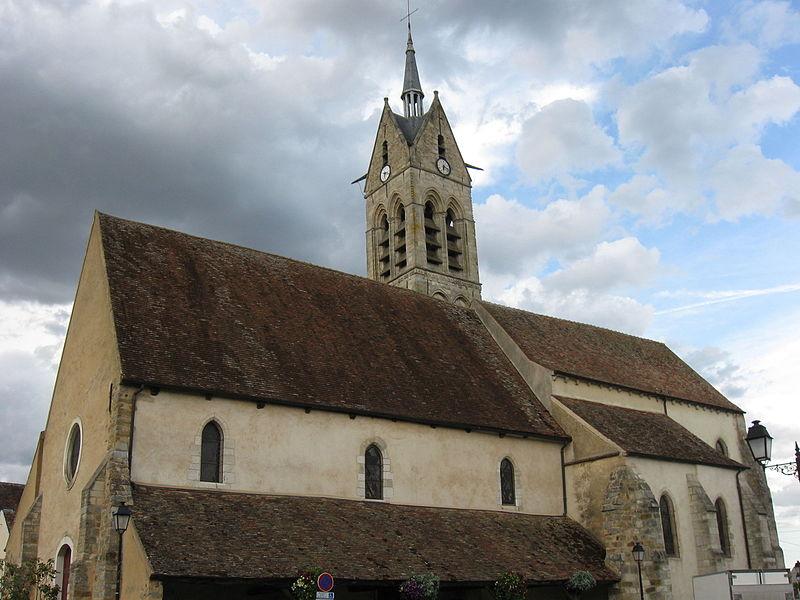 Photo du Monument Historique Eglise Sainte-Madeleine situé à Le Châtelet-en-Brie