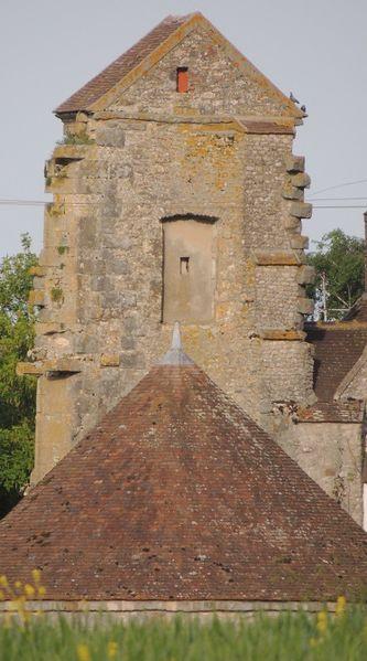 Photo du Monument Historique Château (restes de l'ancien) situé à Châtenoy