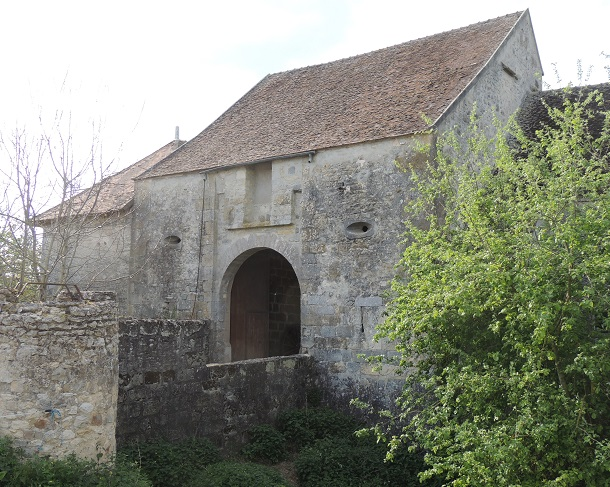 Photo du Monument Historique Manoir du 15s situé à Châtenoy