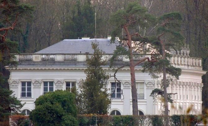 Photo du Monument Historique Château des Boulayes situé à Châtres