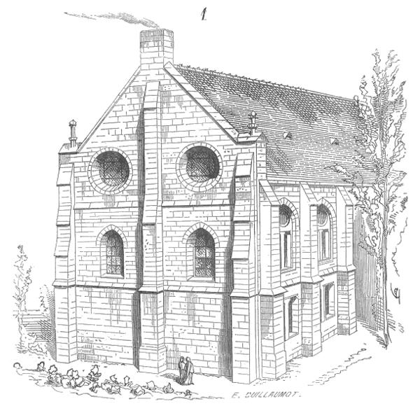 Photo du Monument Historique Ancienne abbaye royale situé à Chelles