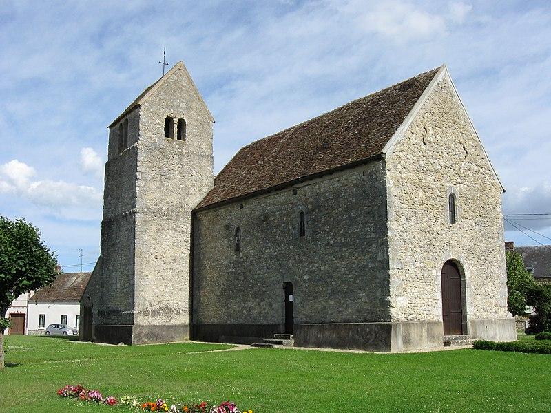 Photo du Monument Historique Eglise situé à Chevrainvilliers