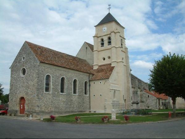 Photo du Monument Historique Eglise Saint-Rémi situé à Congis-sur-Thérouanne