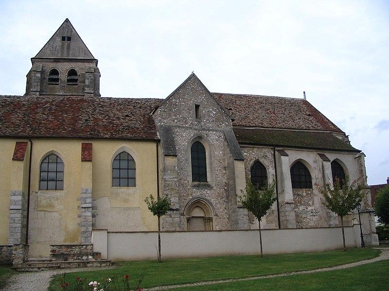 Photo du Monument Historique Eglise Saint-Georges situé à Couilly-Pont-aux-Dames