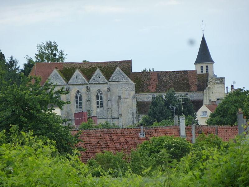 Photo du Monument Historique Eglise Saint-Martin situé à Coulombs-en-Valois