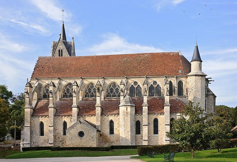 Photo du Monument Historique Eglise Notre-Dame de l'Assomption de la Chapelle-sur-Crécy situé à Crécy-la-Chapelle