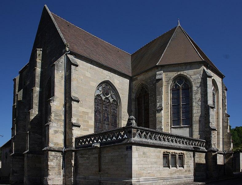 Photo du Monument Historique Eglise situé à Crouy-sur-Ourcq