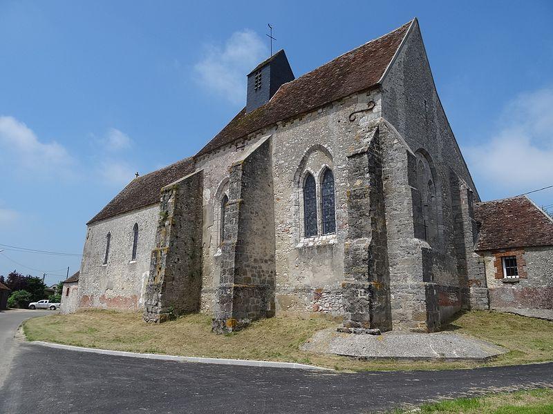 Photo du Monument Historique Eglise Sainte-Geneviève situé à Cucharmoy