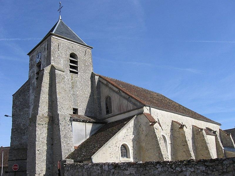 Photo du Monument Historique Eglise Saint-Jean-Porte-Latine situé à Douy-la-Ramée