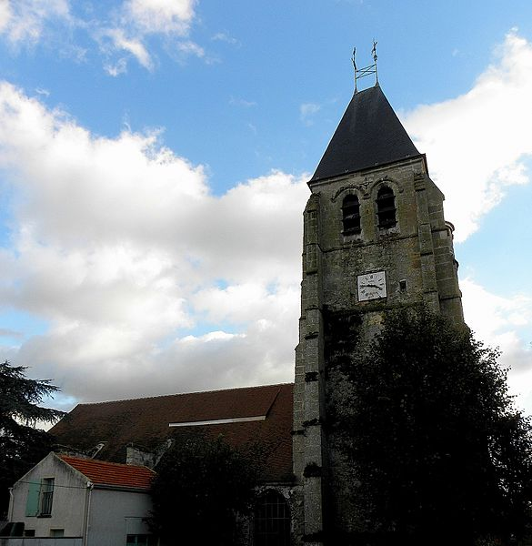 Photo du Monument Historique Eglise Saint-Jean-Baptiste situé à Etrépilly