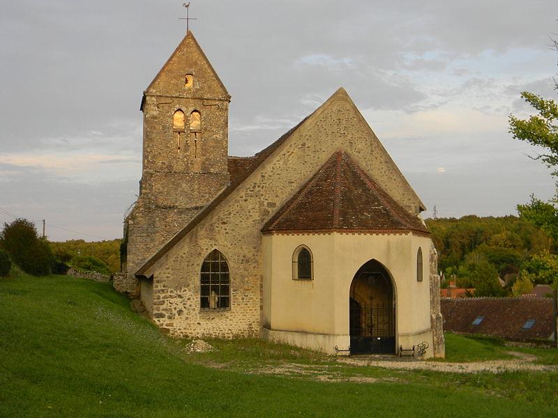 Photo du Monument Historique Eglise situé à Faÿ-lès-Nemours