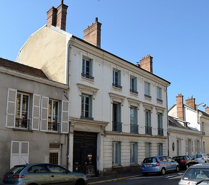 Photo du Monument Historique Hôtel de Beauharnais situé à Fontainebleau