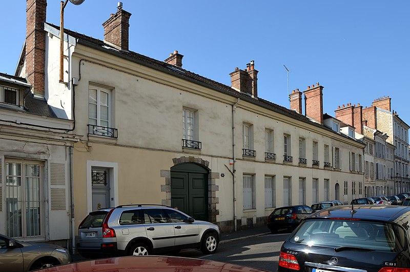 Photo du Monument Historique Hôtel d'Orléans situé à Fontainebleau