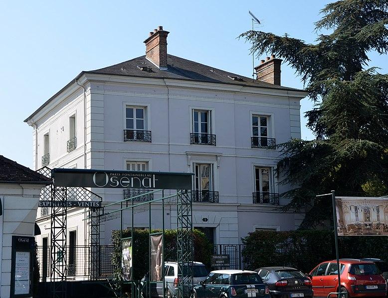 Photo du Monument Historique Immeuble situé à Fontainebleau