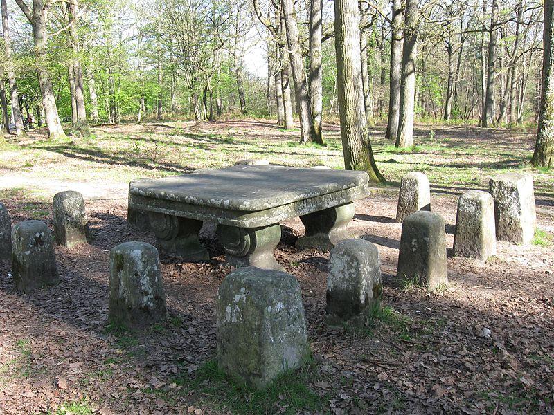Photo du Monument Historique Table du Roi situé à Fontainebleau
