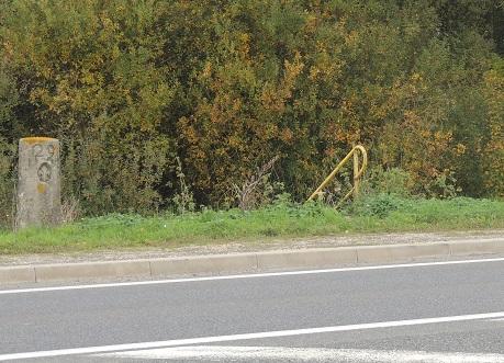 Photo du Monument Historique Bornes à fleur de lys n°s 28 et 29 situé à Grandpuits-Bailly-Carrois