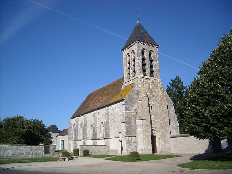 Photo du Monument Historique Eglise situé à Guercheville