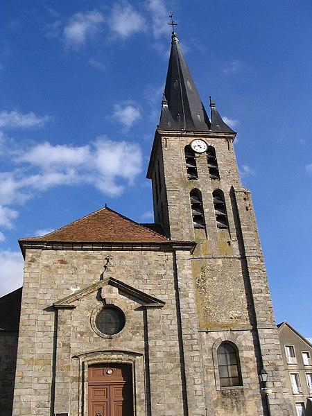 Photo du Monument Historique Eglise situé à Guignes