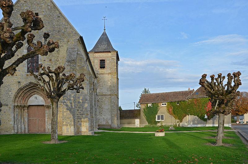 Photo du Monument Historique Eglise situé à Jaulnes