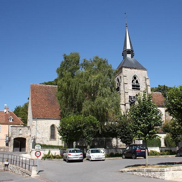 Photo du Monument Historique Eglise Saint-Pierre-Saint-Paul situé à Jouy-sur-Morin