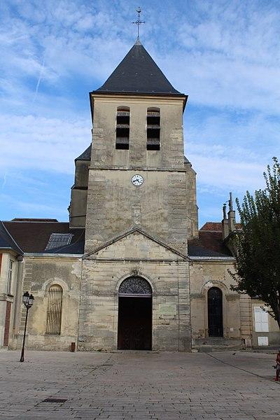 Photo du Monument Historique Eglise Notre-Dame-des-Ardents et Saint-Pierre situé à Lagny-sur-Marne