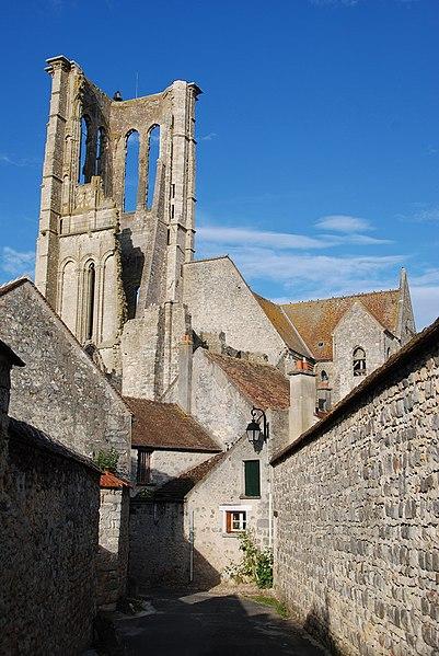 Photo du Monument Historique Eglise Saint-Mathurin situé à Larchant