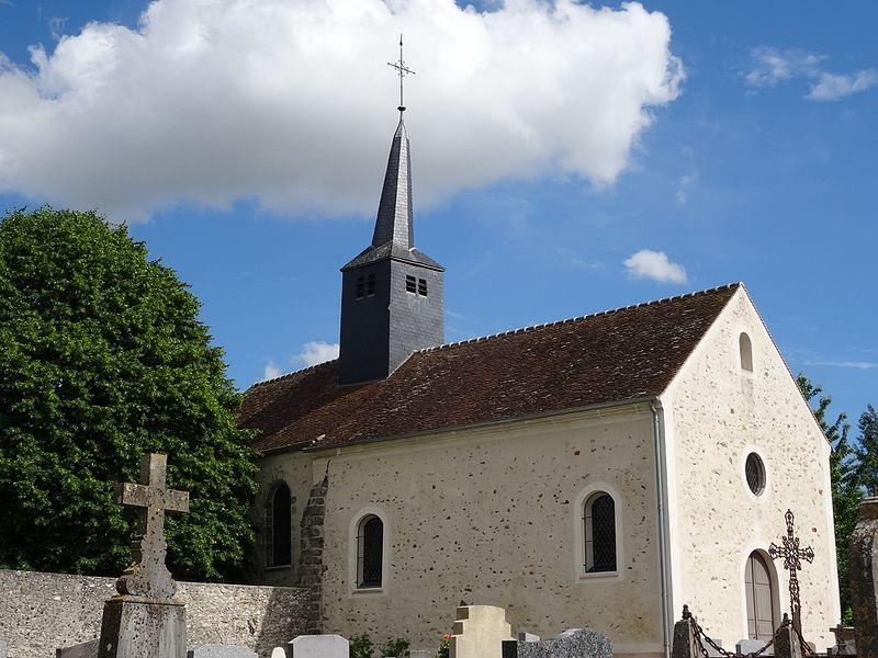 Photo du Monument Historique Eglise situé à Leudon-en-Brie
